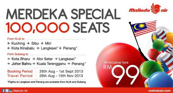 Malindo Air Merdeka Promotion 2013