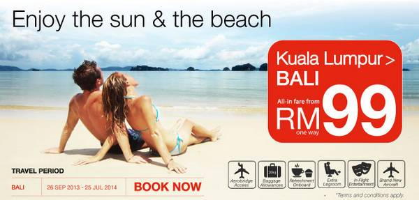 Malindo Air Promotion (KL-Bali)