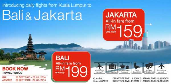 Malindo Air Promotion to Jakarta and Bali