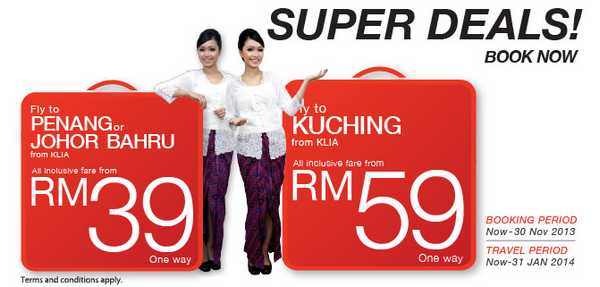 Malindo Air Super Deals Promotion