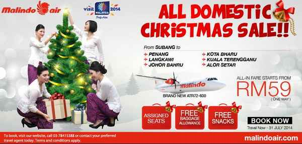 Malindo Air Christmas Sale 2013