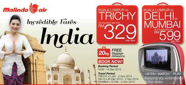 Malindo Air Promotion to India