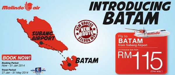 Malindo Air Promotion to Batam