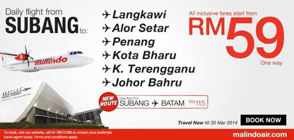 Malindo Air Daily Flight Promotion