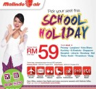 Malindo Air School Holiday RM59 Promotion