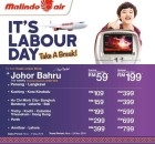 Malindo Air Labour Day Promotion