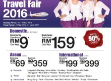 Malindo Air Travel Fair 2016