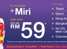 Malindo Air MITM Travel Fair 2016