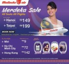Malindo Air Merdeka Sale 2016
